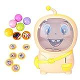 ねじり卵 幼児おもちゃ 宝くじ探す! ボール ミニポータブル 室内遊具 早期 教育 知育 玩具 子供プレゼント 誕生日 クリスマス (イェロー)