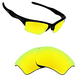 Alphax Polarized Replacement Lenses/Accessories for Oakley Half Jacket 2.0 XL OO9154 – Multiple Options