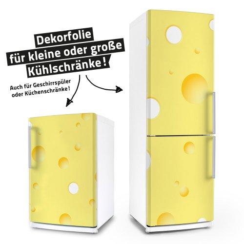 Kühlschrank- & Geschirrspüler-Klebefolie --- Käse --- Aufkleber Folie Dekorfolie Front Spülmaschine