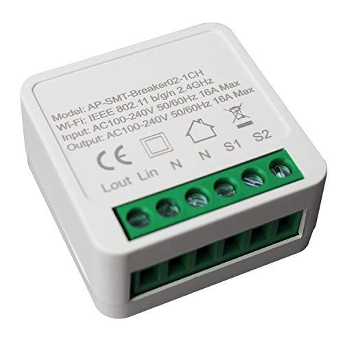 Cobeky 16A Wifi DIY Switch, módulo de automatización del hogar, funciona con la aplicación Alexa Home Life