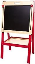 MMP Living 3 in 1 Art Easel - Blackboard & Magnetic White Board, with 2 Storage Bins, Adjustable