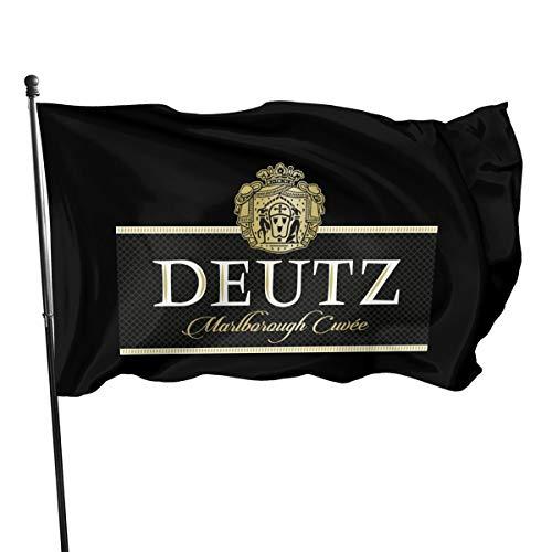 Deutz Fahnen/Flagge/Gartenfahne/Dekorativer-Verf¨¹gbar In Allen Jahreszeiten?90 X 150 cm?.