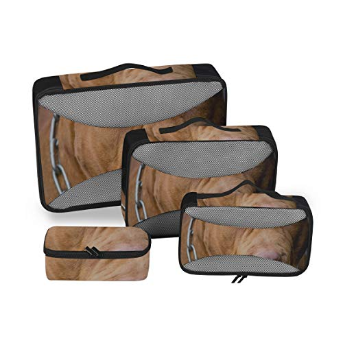 Bolsas de Viaje/Organizador de Equipaje Bolsas American Pit Bull Terrier Camping Pack...