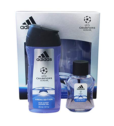 adidas Adidas uefa cl arena edition eau de toilette shower gel online shop gutschein 300 ml
