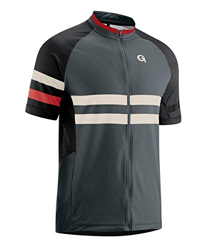 Gonso M Boval Grau, Herren T-Shirt, Größe L - Farbe Graphite