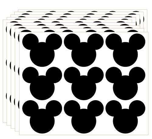 Mickey Mouse Stickers 2.62 x 2.2 Inch PVC Mickey Stickers - 90 Pack - Perfect for Mickey Mouse Themed Birthday Party