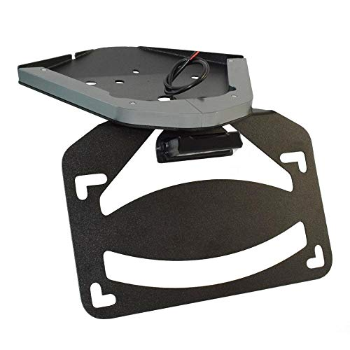 LED Light Tail Tidy Fender Eliminator License Number Registration Plate Frame Holder Bracket for B-M-W S10-00RR K67 2019 2020 2021 Car Accessories (Color : Titanium)
