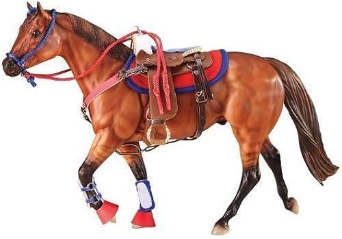 Breyer Western Horse Riding Set, Hot Farbes by Breyer