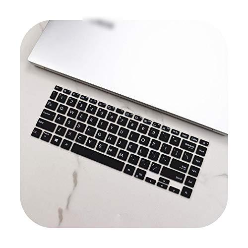Carcasa protectora para teclado ASUS Vivobook S14 S433Fl S433F S433Fa 2020 S433 FL FA F silicona para teclado de color negro