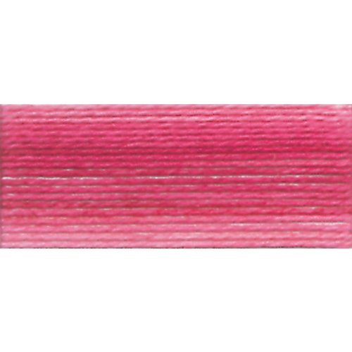 DMC 19-48 Brilliant Tatting Cotton, 106-Yard, Size 80, Variegated Baby Pink