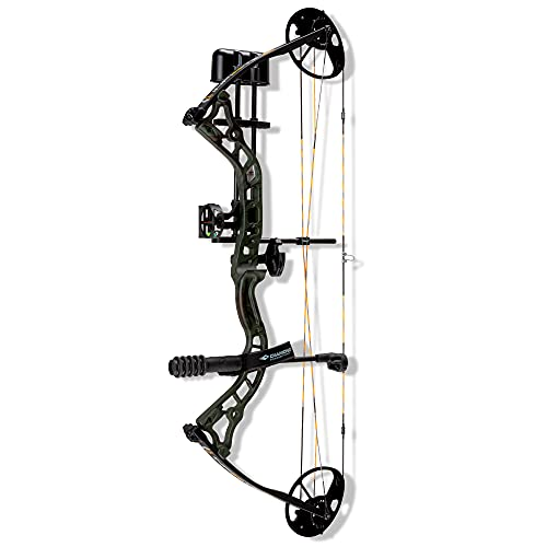 Diamond Archery Infinite 305 Compound Bow - Green Roots - 70 lbs, Left Hand