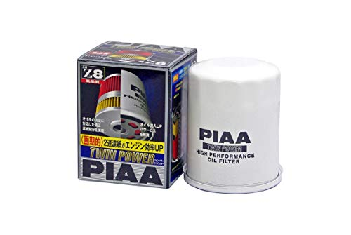 PIAA ツイン パワーオイルフィルター Z8