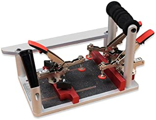 Professional Coping & Crosscut Sled w/Auto-Adjust Toggle Clamps
