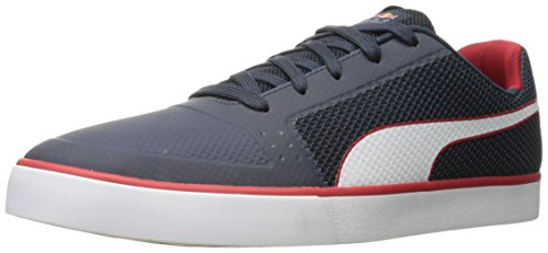 PUMA Men's RBR Wings Vulc Sneaker, Total Eclipse W, 4 M US