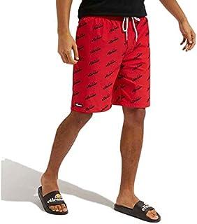 ellesse Padua Polyester Red Short