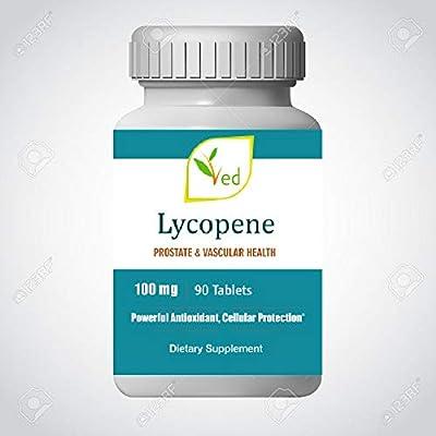 Ved Lycopene Supplement   Super Strength, Prostate & Heart Health   Boost Immune System   Super Antioxidant   100mg x 90 Tablets