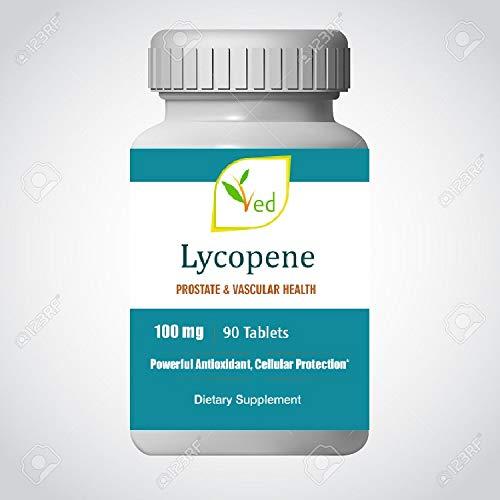 Ved Lycopin Ergänzung | Superkraft, Prostata & Herzgesundheit | Stärkung des Immunsystems | Super Antioxidans | 100 mg x 90 Tabletten