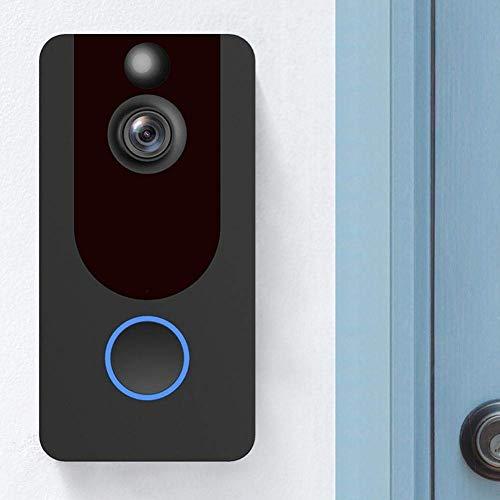 XZJJZ Cámara de Seguridad Cámara 1080P de Smart Wi-Fi vídeo Timbre Visual visión de intercomunicación con el carillón del IP de la Puerta Bell Wireless Nueva