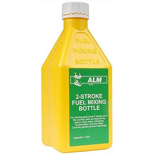 Botella de mezcla de gasolina de combustible 2 tiempos de aceite de la motosierra para 25:1 40:1 50:1 ALM 1L