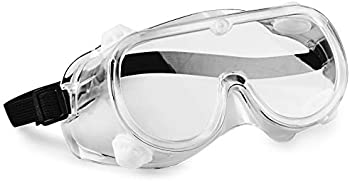 10-Pack hand2mind 6 Inch Clear Safety Goggles