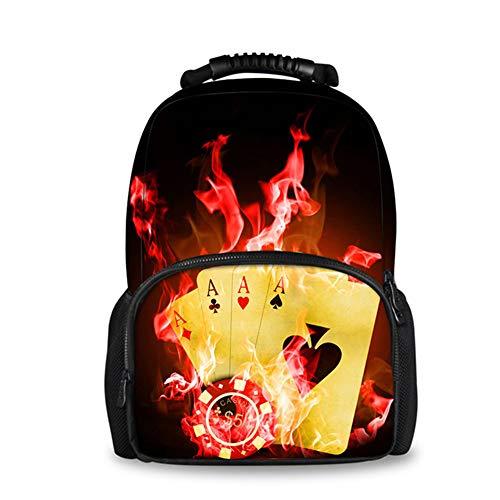 fhdc Rucksäcke Reise Laptop Frauen Leinwand Filz Rucksack Coole 3D Fire Ball Uhr Druck Rucksäcke Für Teenager MädchenUmhängetaschen H5914A