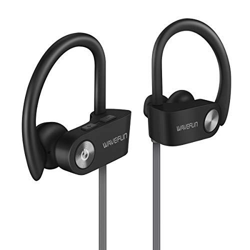 LPYHC Seven-Level Raincoat Bluetooth Headset 5.0 Sports Version...