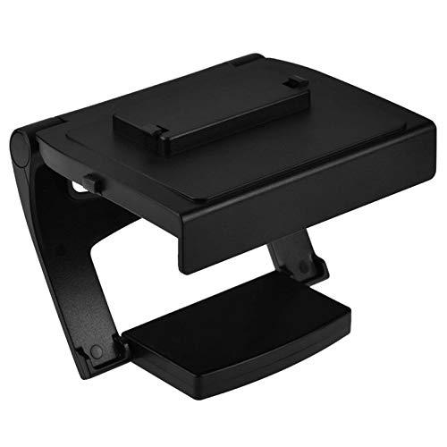LIXUDECO Gabinete de TV para el Soporte de TV Kinect para un Clip de Montaje de TV de Kinect 2.0 para un Sensor de Consola Mueble (Color : Black)