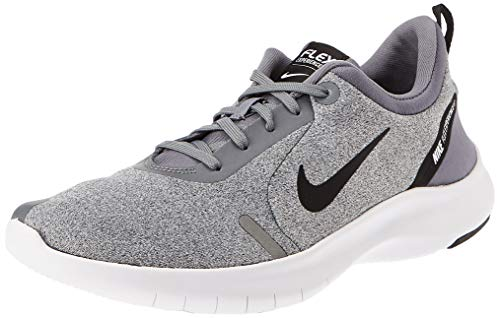 Nike Men's Flex Experience Run 8 Shoe, Cool Grey/Black-Reflective Silver-White, 9.5 Regular US