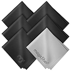 MagicFiber Microfiber Cleaning Cloths, 6 PACK.