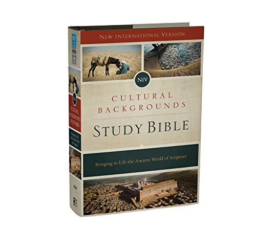 Compare Textbook Prices for NIV Cultural Backgrounds Study Bible: Bringing to Life the Ancient World of Scripture Illustrated Edition ISBN 9780310431589 by Zondervan,Keener, Craig S.,Walton, John H.