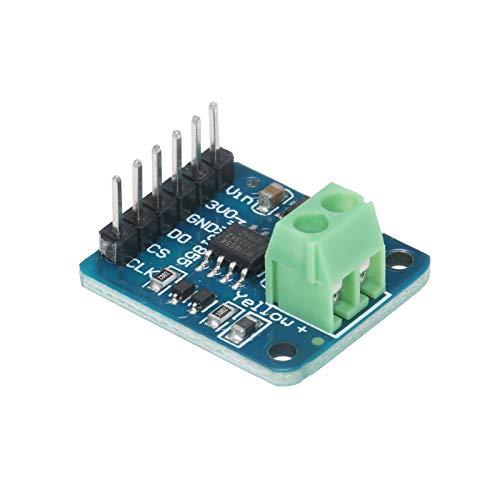 Explopur MAX31855 K Type Thermocouple Module Mini Board Temperature Sensor Module -200°C to +1350°C Temperature Controller Board with SPI Interface