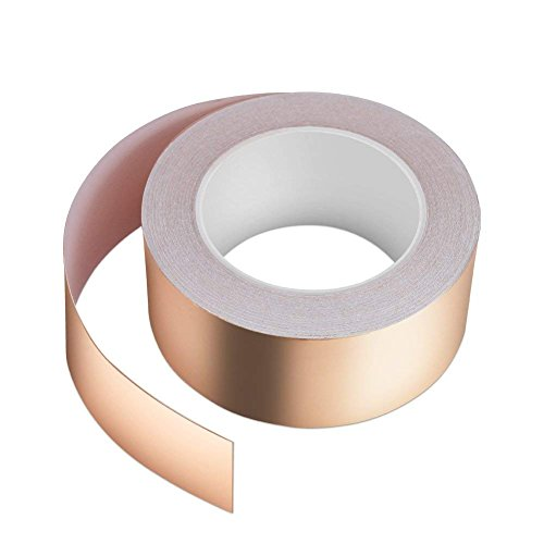RF EMI Shield Shielding 15mm x 30Meter Copper Foil Adhesive Tape Insulation