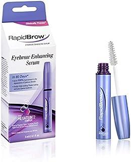 Rapidbrow Eye Brow Enhancing Serum pack of 2