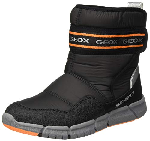 GEOX J FLEXYPER BOY B ABX BLACK/ORANGE Boys' Boots Snow size 37(EU)