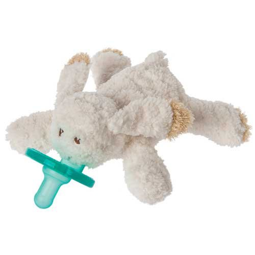 Mary Meyer OATMEAL BUNNY WUBBANUB w Attached Soothie Pacifier by Mary Meyer
