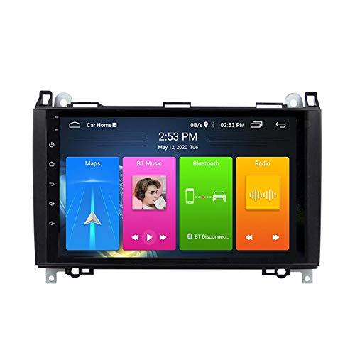 Android 8.1 Radio Para Automóviles Para Mercedes Benz B200 W169 A160 Coche Estéreo GPS Navegación Táctil Pantalla Pantalón MEDIA Player Doble Din Unidad Unidad Soporte WiFi Contro(Color:4G+WIFi:2+32G)