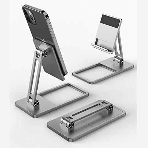 ZHJDX Tableta Perezosa de Metal Tableta Universal Doble Plegable Tableta Tableta Soporte Soporte de Mesa de Escritorio de Aluminio Nuevo