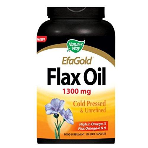 Nature's Way Flax Oil 1,300 mg Single P