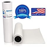 White Kraft Arts and Crafts Paper Roll - 18 inches by 175 Feet (2100 Inch) - Ideal for Paints, Wall Art, Easel Paper, Fadeless Bulletin Board Paper, Gift Wrapping Paper and Kids Crafts - Made in USA