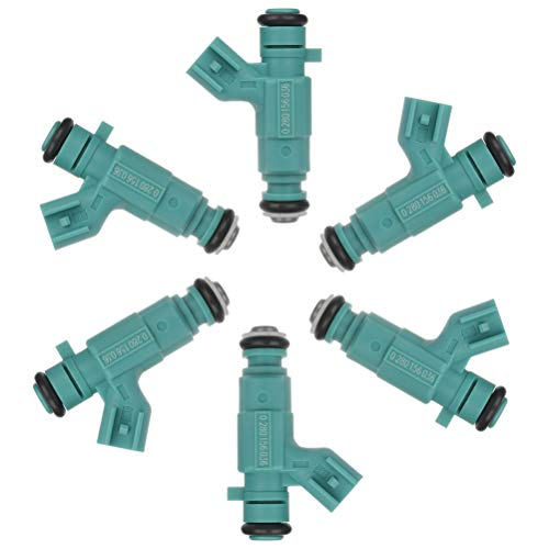Injectors ZENITHIKE 6 pcs 4 Holes Engine Fuel Injector Set for 2001-2003 for D-odge Intrepid,2001-2003 for D-odge Stratus