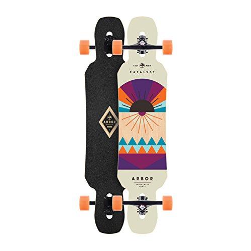 riviera longboards Skateboard Arbor Longboard Complete Drop Thru 9.13