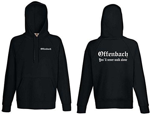 world-of-shirt Herren Kapuzensweat Offenbach Ultras