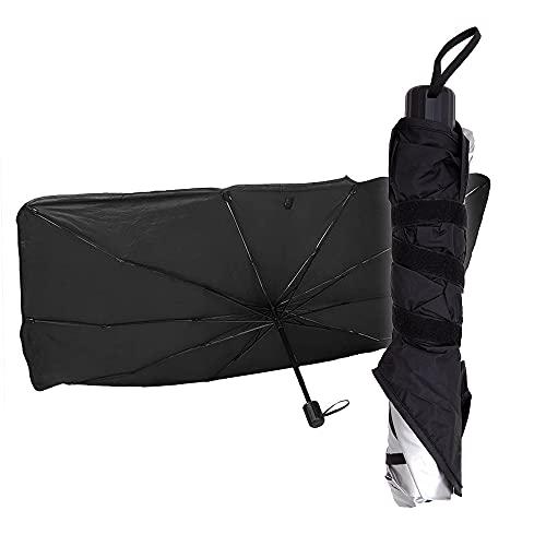 BOTOPRO - Oferta 2 Uds. BrellaShade, el Parasol para el Coche en Forma de Paraguas para Proteger el Interior del Coche y Reducir el Calor, Protector Solar para Luna - Anunciado en TV (2)