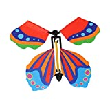 Magic Prank Butterfly Flying Toy, Wind Up Butterfly Magic Playing Toys, Funny Gift Party Card, Magic Prop Toy, para cumpleaños, tarjeta de boda, regalo (15 unidades)