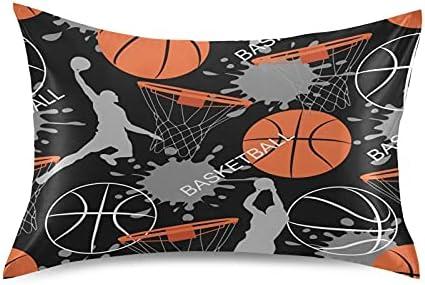 TropicalLife Meetutrip Basketball Sports Ranking TOP14 Satin Max 76% OFF Pattern Pillowcas
