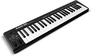 Alesis Q49 - Teclado MIDI USB y controlador con 49 teclas sensibles a la velocidad, Ableton Live Lite incluye