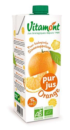 Vitamont(ヴィタモン)『オーガニック オレンジジュース』