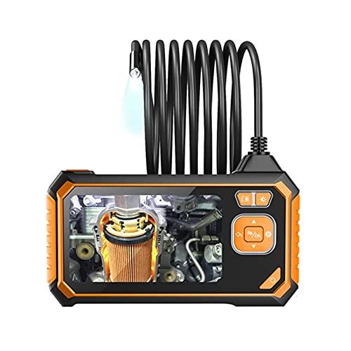 Endoscopio Industriale A Doppia Lente da 8 Mm, Telecamera Snake HD da 4,3 Pollici, Telecamera Impermeabile IP67, Riparazione della Tubazione del Tubo di Scarico del Motore di Ispezione (Taglia : 5m)