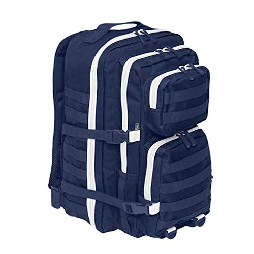 Brandit Back Bag Rucksack US COOPER large navy weiß