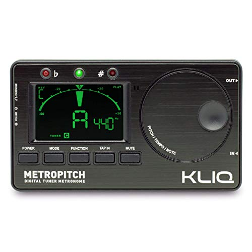 commercial KLIQ MetroPitch is a metronome tuner for all instruments – guitar, bass, violin, ukulele,… metronomes